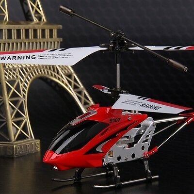 Genuine Syma S107G 3-Channel 3.5CH Mini Remote Control RC Helicopter Gyro Gifts#