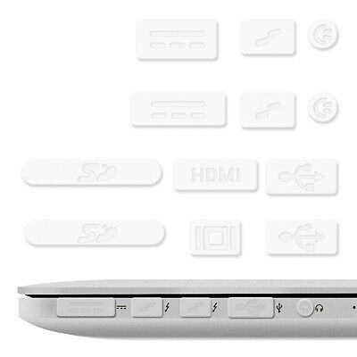 "12X kwmobile Stecker für Apple Macbook Pro 13"" 15"" Retina Air 11"" 13"" (Ab Mitte"