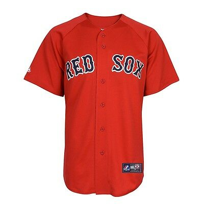 MLB Baseball Trikot Jersey BOSTON RED SOX - Home alternate red - von Majestic