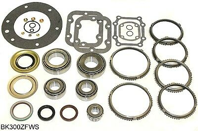 Ford ZF S542 5 Speed Transmission Rebuild Kit 87-95 w/ Synchros, BK300ZFWS