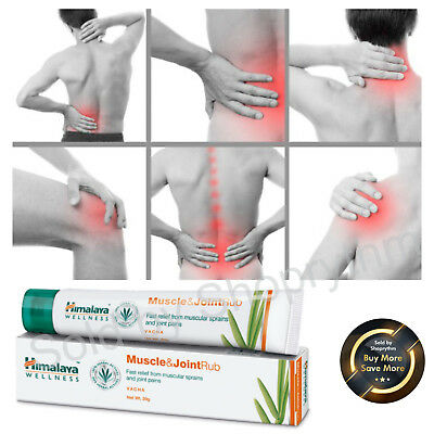 Himalaya Herbals Muscle & Joint Rub 20G Relief From Muscular Sprains & Jointpain