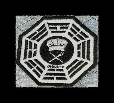 """LOST Dharma Initiative Embroidered patch """"Chef"""""""
