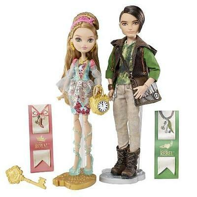 "Fashionable Ashlynn Ella & Hunter Huntsman 12"" Doll, 2-Pack, New"