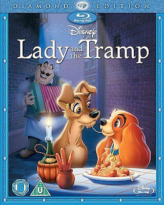 LADY AND THE TRAMP BLU-RAY DISC REGION-FREE BRAND NEW RARE CLASSIC DISNEY