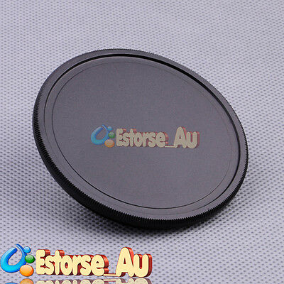 55mm Metal Camera Front Lens Cap Cover For Canon Nikon Pentax Sony Black