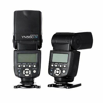 YONGNUO YN-560 IV Wrieless Speedlite Flash for Canon Nikon DSLR & YN-560 III UK