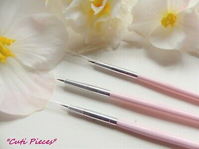 Fine Detail Creative Design Paints *Nail Art Brush* Acrylic Nail Tips Extensions