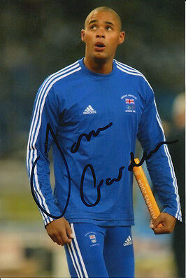 Jason Gardner Hand Signed Great Britain 6X4 Photo Athens 2004 2.