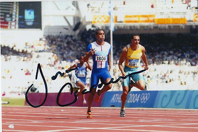 Jason Gardner Hand Signed Great Britain 6X4 Photo Athens 2004 6.