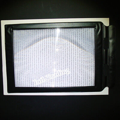 A4 Full Page Large Magnifying Glass Reading Aid Fresne Lens Sheet 3X Magnifier