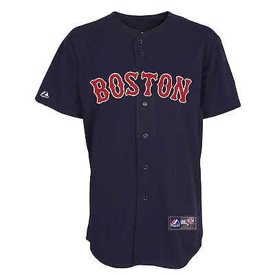 MLB Baseball Trikot Jersey BOSTON RED SOX Alternate navy von Majestic