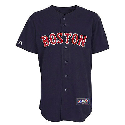 MLB Baseball Trikot Jersey BOSTON RED SOX - Alternate navy- von Majestic