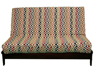 Premium Heavy Texture Futon Cover X1 - Handmade in USA - All Sizes
