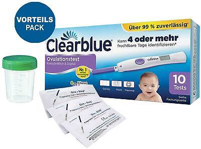 Clearblue DIGITAL Ovulationstest 2.0 mit dualem Hormonindikator + 5 Tests GRATIS
