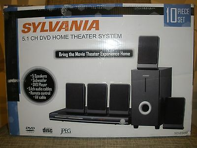 Sylvania DVD5088 5.1 Channel DVD Home Theater System