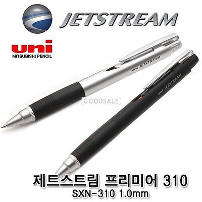 UNI JetStream Premier 310 Ball Point Pen SXN-310 1.0mm  (Black barrel)