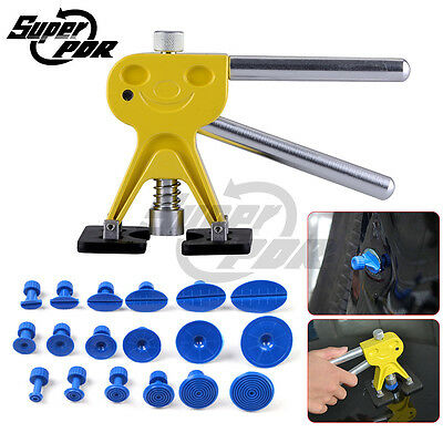 Paintless Dent Repair Removal Hail Super PDR Tools Dent Lifter Puller Tabs Set