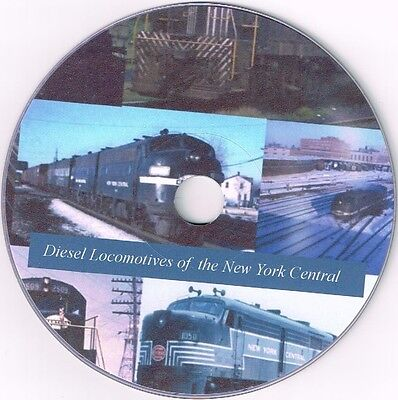 Nyc Locomotives Of The New York Central Dvd