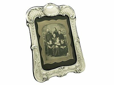 Antique George V Sterling Silver Photograph Frame by Henry Matthews