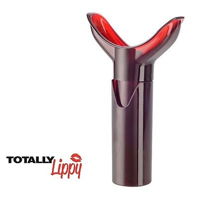 TOTALLY Lippy - LIP PUMP - For Natural Big Plump Pouty Lips - 3 FREE Lip Masks