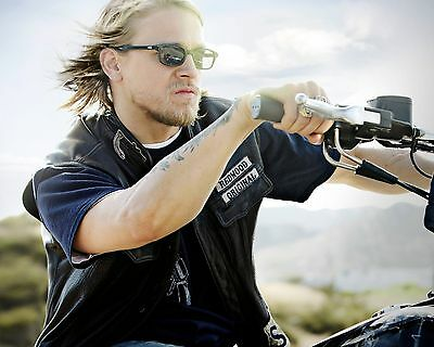 Charlie Hunnam SOA Sons of Anarchy Jax Photo Print Poster 8.5 by 11 inches #4
