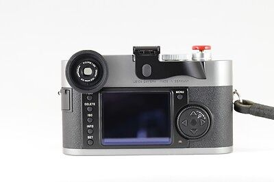 New E-Clypse 1.45x Magnifier-34 with Diopter correction fit Leica M9 MP Version2