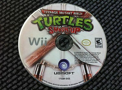 TMNT Teenage Mutant Ninja Turtles: Smash-Up (Nintendo Wii, 2007)DISC ONLY