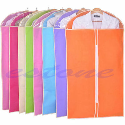 3 Sizes Home Clothes Garment Suit Cover Bags Dustproof Storage Protector