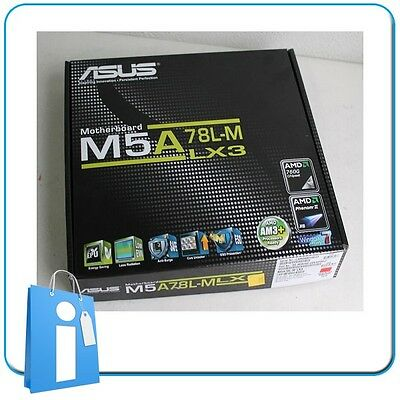 Placa base mATX ASUS M5A78L-M LX3 DDR3 Socket AM3 con Accesorios