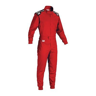 SUIT OMP SUMMER K Red size M 50-52  KART INDOOR KART OVERALL  LIGHTWEIGHT