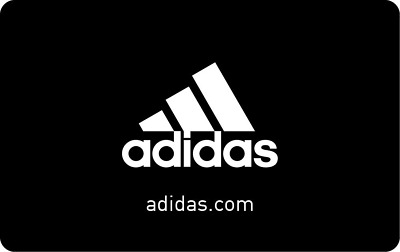 Adidas Gift Card - $25 $50 $100 - Fast Email Delivery