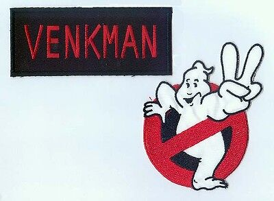Ghostbusters 2 Arm Patch & Name tag set Choice of name