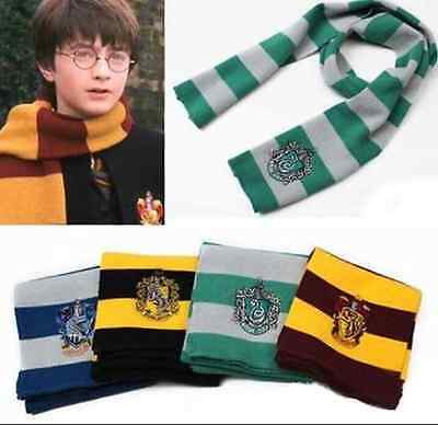New Harry Potter Gryffindor/Slytherin/Ravenclaw/Hufflepuff House Wool Scarf