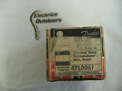 Danfoss 0.19 - 0.29 Amp Thermal Relay T16 47L0061