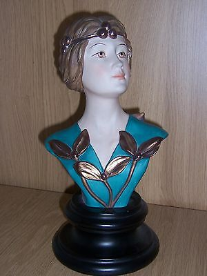 Capodimonte Limited Edition Bust by artist Ester