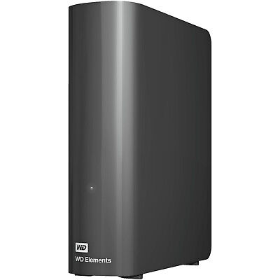 WD Elements™ Desktop, 4 TB HDD, 3.5 Zoll, extern, Schwarz