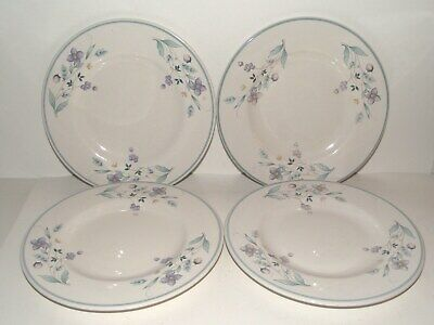 Set of 4 Pfaltzgraff April Salad Plates - Made in USA