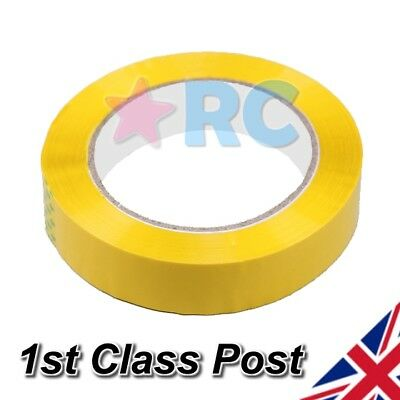 RC Plane Yellow  Wing Tape - Repair / Cover adds Strength & Colour - Foam - EPO