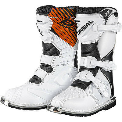 Oneal NEW 2018 Kids Mx Rider Boot Dirt Bike Cheap White Youth Motocross Boots
