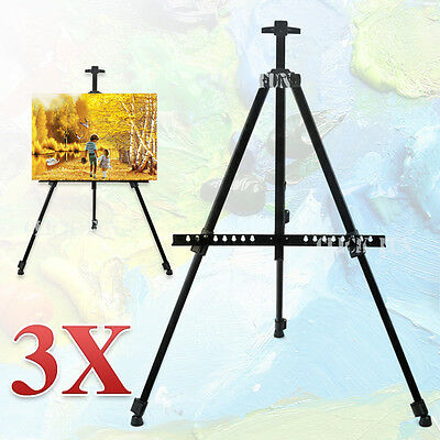 3X Easel Display Stand Drawing Board Tripod Adjustable Artist Sketch Painting