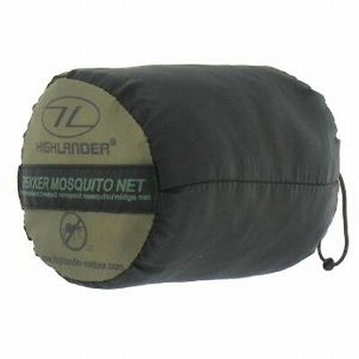 Highlander Trekker Mosquito Net - Wedge or Bell Shape - Permethrin Treated
