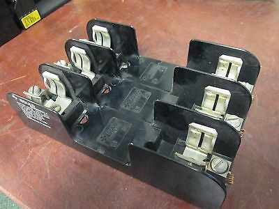 Gould  Fuse Block  60603  60A  600V  3P  Used