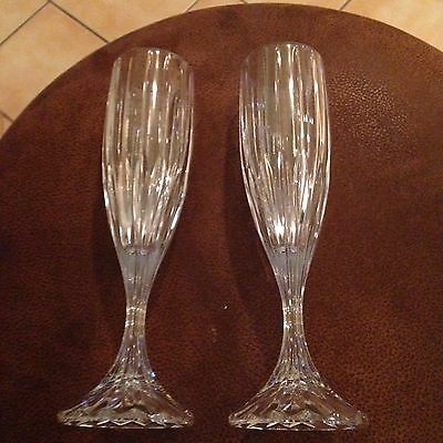 Mikasa Arctic Lights Iced Beverage Glasses Set Of 2 In Box