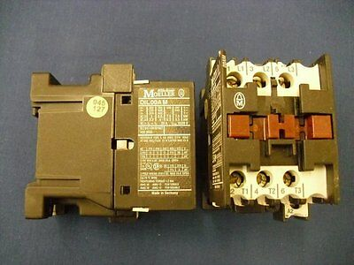 Contactor DIL00AM-240 Moeller 5.5kW 240VAC DIL00AM/240AC