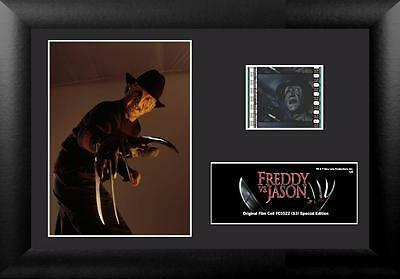 FREDDY KRUEGER  Freddy Vs Jason Voorhees Horror Movie FILM CELL and PHOTO New