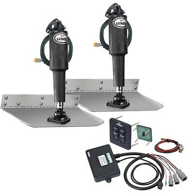 Lenco 9X12 Trim Tab Kit With  Tactile Switch