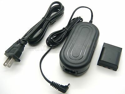 AC Power Supply Adapter Charger For CANON Powershot G7 G9 S30 S60 S80 EOS-400D