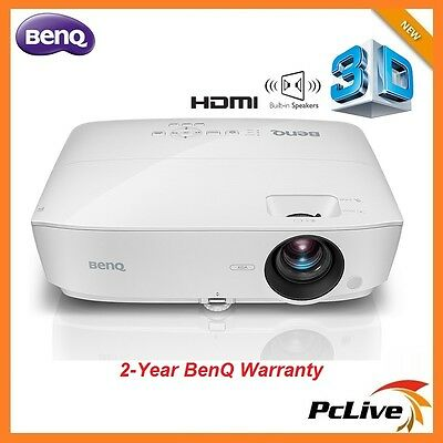 NEW BenQ MX532 DLP Projector 3D HDMI Speaker 15000:1 Home Theater 3300 lumens