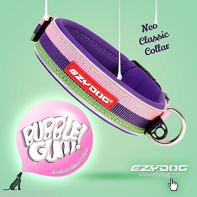 EZYDOG Neo Dog Collar - BUBBLE GUM - Extra Small FREE DELIVERY !