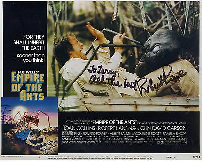 ROBERT PINE EMPIRE OF THE ANTS Hand Signed In Person Autographed 8x10 C.H.I.P.S.